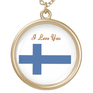 Finland flag Locket