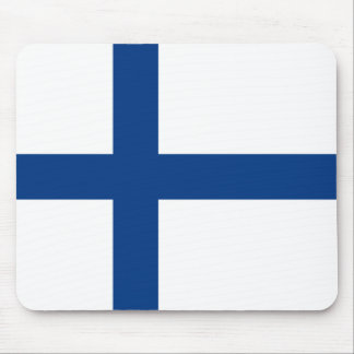 Finland Flag Mouse Pad
