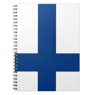 Finland Flag Notebook
