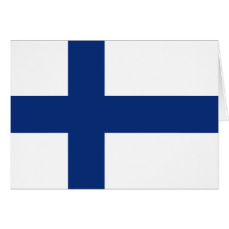 Finland Flag Notecard