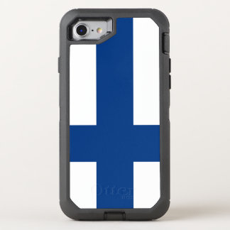 Finland Flag OtterBox Defender iPhone 8/7 Case