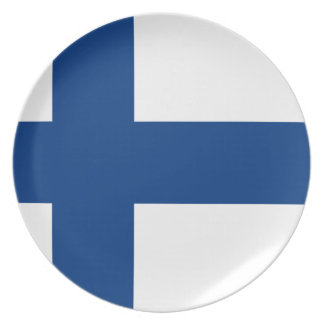 Finland Flag Plate