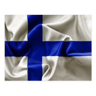 Finland Flag Postcard