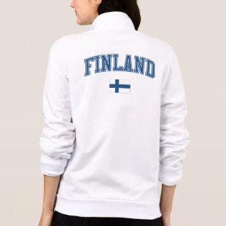 Finland + Flag Printed Jackets