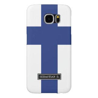 Finland Flag Samsung Galaxy S6 Cases