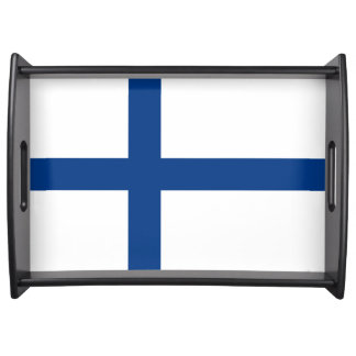 Finland Flag Serving Tray