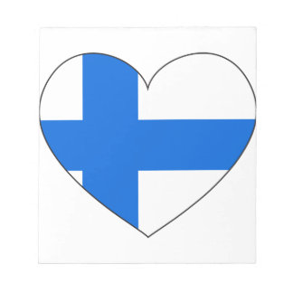 Finland Flag Simple Notepad