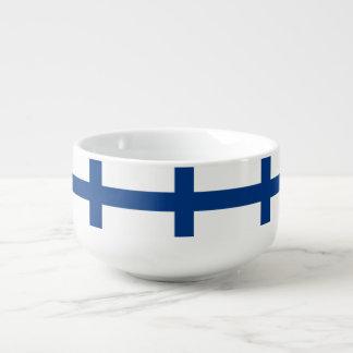 Finland Flag Soup Mug