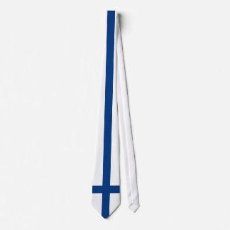 Finland Flag Tie