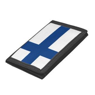 Finland Flag Tri-fold Wallet