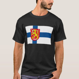 Finland Flag with COA T-shirt