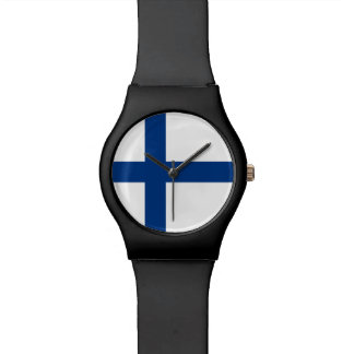 Finland Flag Wrist Watches