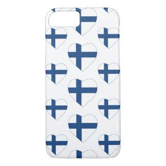 FINLAND HEART SHAPE FLAG iPhone 7 CASE