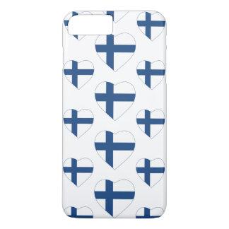 FINLAND HEART SHAPE FLAG iPhone 7 PLUS CASE