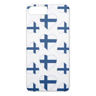 FINLAND HEART SHAPE FLAG iPhone 8 PLUS/7 PLUS CASE