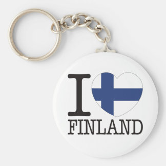 Finland Love v2 Keychain