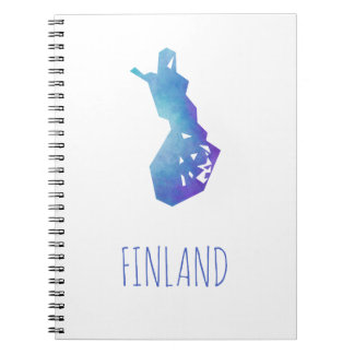 Finland Map Notebooks