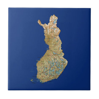 Finland Map Tile