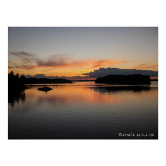 Finland Midnight Sun Poster