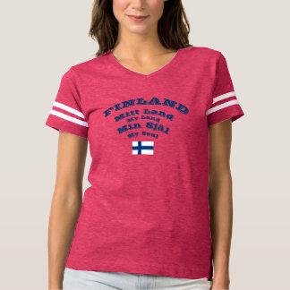 Finland Mitt Land Mein Sjal Shirt