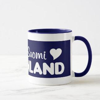 Finland Moose mug
