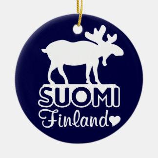 Finland Moose ornament