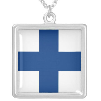 FINLAND SILVER PLATED NECKLACE