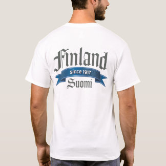 Finland Since 1917 Back T-Shirt