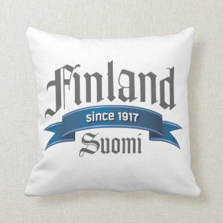 Finland Since 1917 Double-sided Pillow