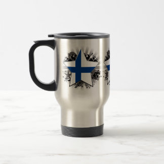 Finland Star Travel Mug