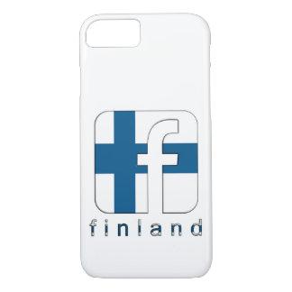 Finland Suomi Facebook Logo Unique Gift iPhone 7 Case