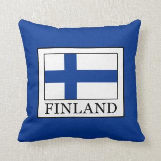 Finland Throw Pillow