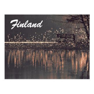 Finland tourist postcard