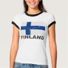Finland Vintage Flag T-Shirt