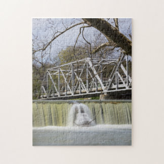 Finley Dam After The Rain Jigsaw Puzzle