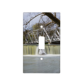 Finley Dam After The Rain Light Switch Cover