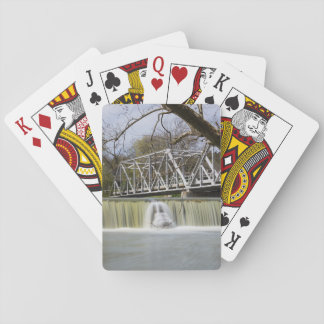 Finley Dam After The Rain Playing Cards