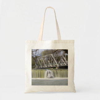 Finley Dam After The Rain Tote Bag