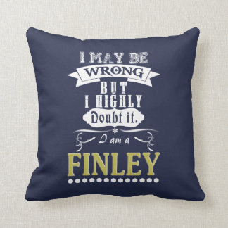 FINLEY is the BEST Throw Pillow