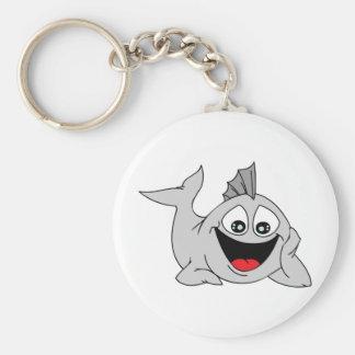 Finley the Friendly Fish Keychain