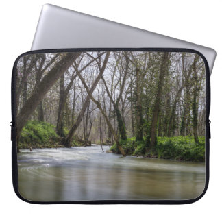Finley Tranquility In Spring Time Laptop Sleeve