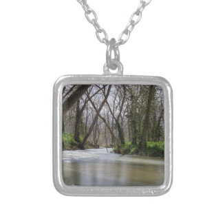 Finley Tranquility In Spring Time Silver Plated Necklace