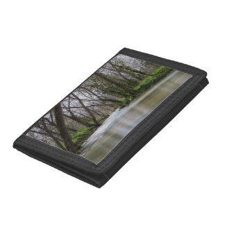 Finley Tranquility In Spring Time Tri-fold Wallet