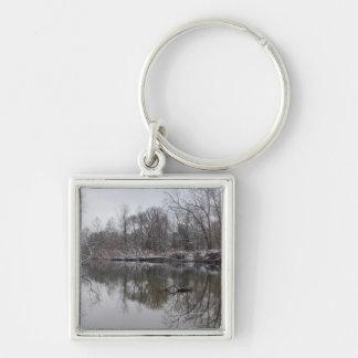 Finley Winter Reflections Keychain