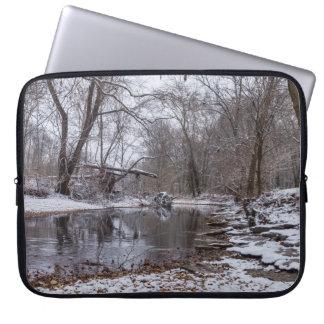 Finley Winter Snow Laptop Sleeve