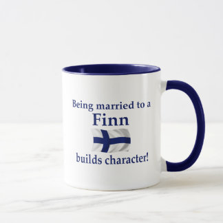Finn Builds Character Mug
