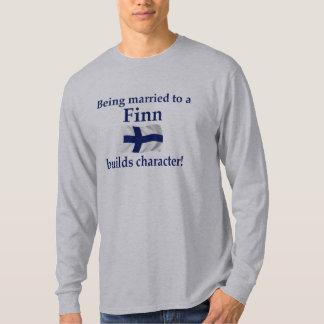 Finn Builds Character T-Shirt