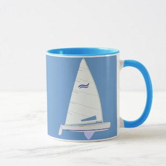 Finn Class Racing Sailboat Mug