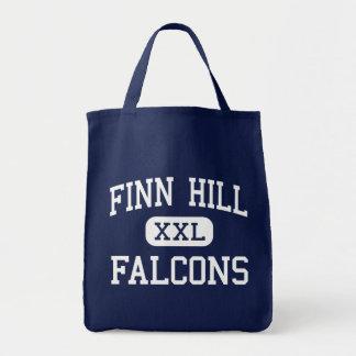 Finn Hill - Falcons - Junior - Kirkland Washington Canvas Bag
