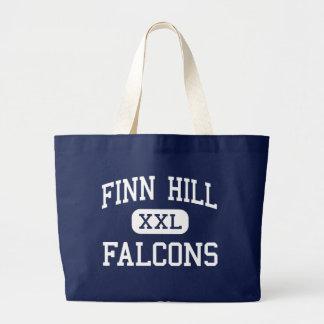 Finn Hill - Falcons - Junior - Kirkland Washington Jumbo Tote Bag